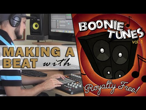 """Making A Hip Hop Beat Sampling Boonie Tunes Vol. 1 - """"Boss Moves"""" (prod. By TCustomz)"""