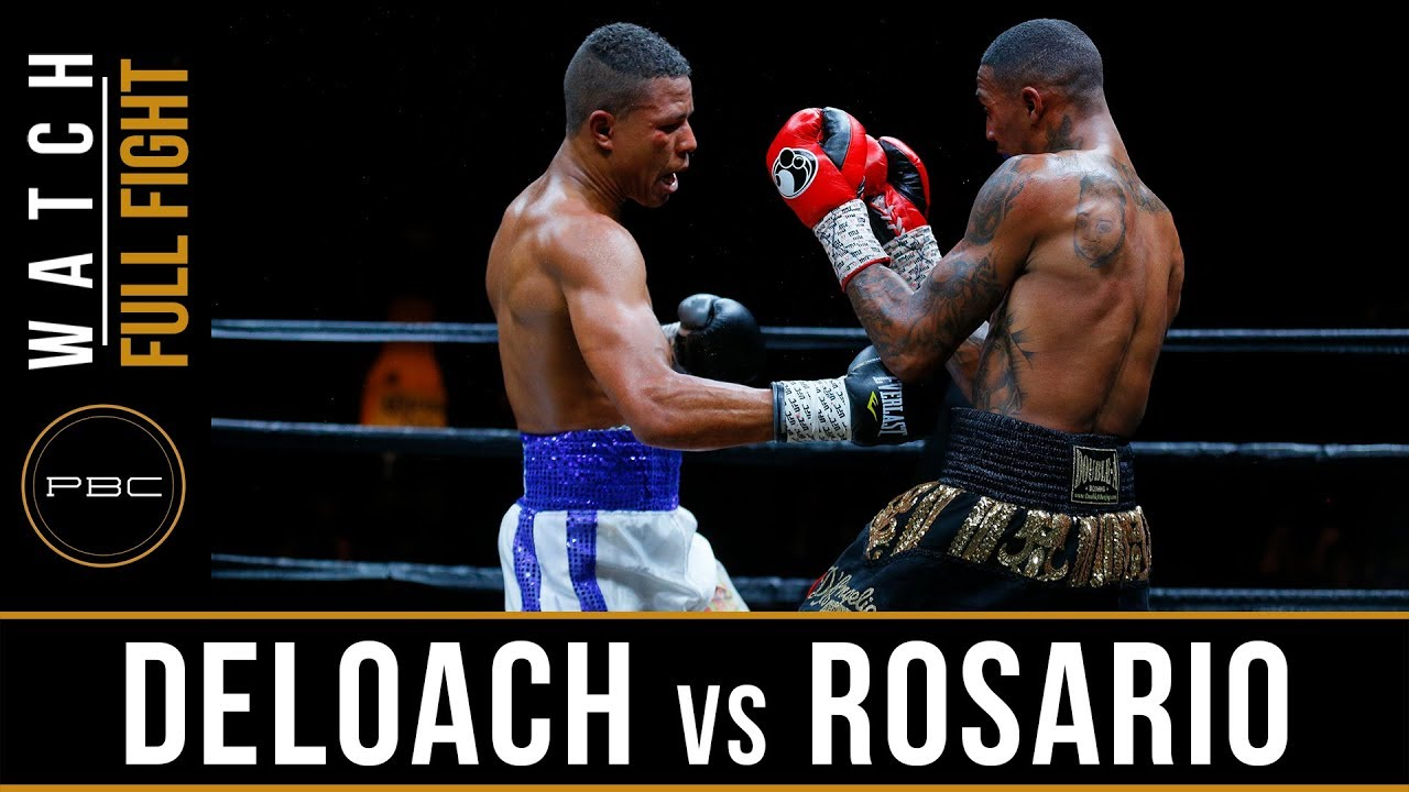DeLoach vs Rosario Full Fight: May 26, 2018