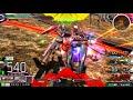 【バリアF覚前ブー無限核パワー】少佐 ☆15 ハイペリオンガンダム【高画質 EXVSMBO…