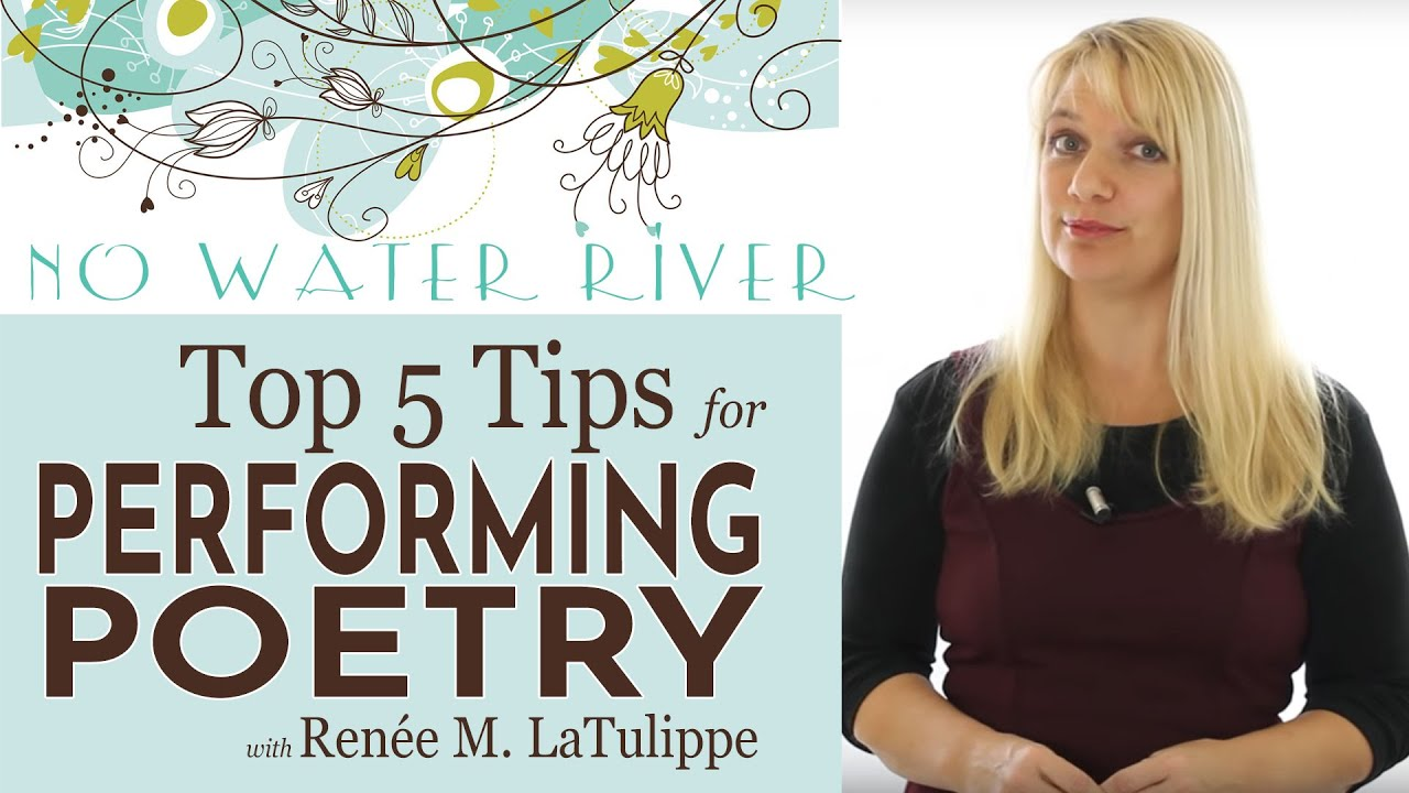 Top 25 Tips for Poetry Performance: Doing Poetry Right with Renee M.  LaTulippe