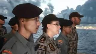 HMAS ARARAT on Australia--Indonesia Coordinated Patrol (AUSINDO CORPAT) 2011