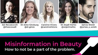 Misinformation in Beauty: how to not be a part of the problem.