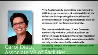 Sustainability at John Carroll University