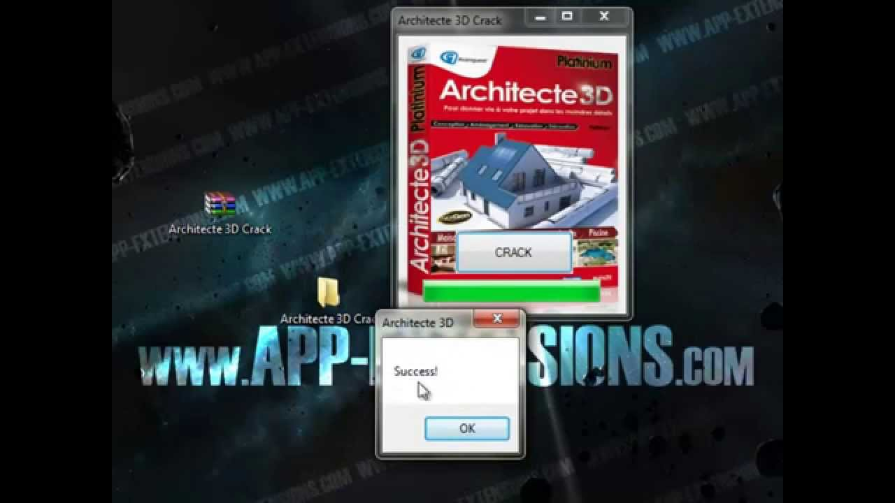 Crack architecte 3d gratuit crack telecharger youtube for Architecte 3d serial number