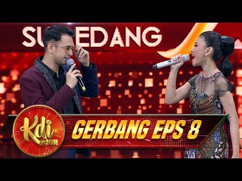 Romantis BGT! Raffi Ahmad Duet Bareng Si Cantik Hayati [KAMULAH TAKDIRKU] - Gerbang KDI Eps 8 (1/8)