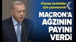 Başkan Erdoğan'dan Macron'a Sert Tepki! / A Haber