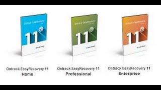 أقوى برنامج في استعادة الملفات الحذوفة Ontrack EasyRecovery +Activation