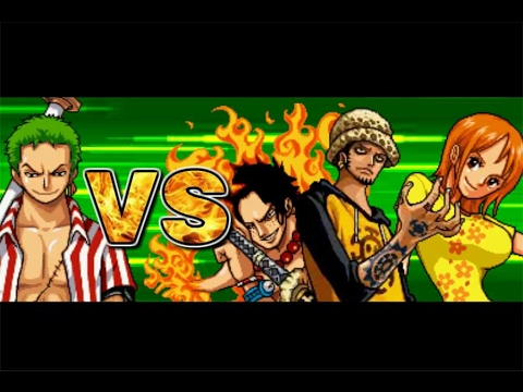 One Piece Hot Fight 0.7 - Zoro Vs Ace & Nami & Law