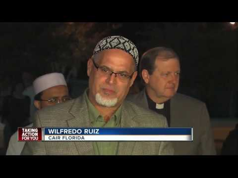 Interfaith service at New Tampa Mosque