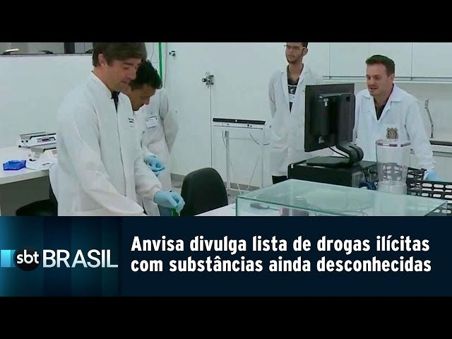 ANVISA divulga lista de drogas ilícitas com substâncias ainda desconhecidas | SBT Brasil (15/02/19)