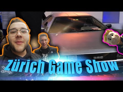 Zürich Game Show -MandoMedia & Swiss Ghostbusters- Vlog
