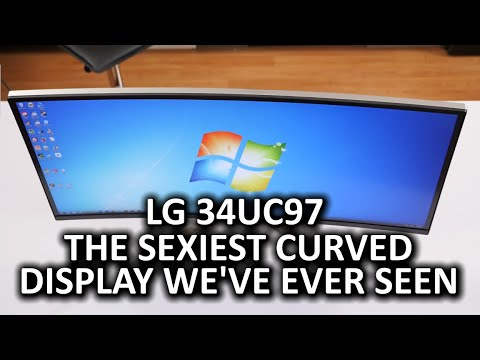 """LG 34UC97 34"""" Curved LCD Monitor"""