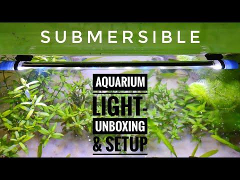 Aquarium Submersible Light | Unboxing And Setting | CrazyF India