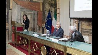 Speciale conferenza in Senato del Ministro per gli affari europei, Paolo Savona