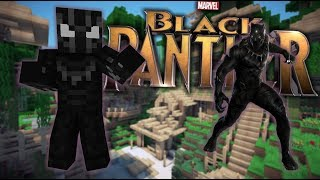 GOING TO WAKANDA!!   Minecraft Black Panther(Minecraft Black Panther Origins Roleplay RPGEP1)