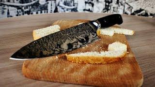 супер острый поварской нож с Aliexpress, стоит ли заказывать ?