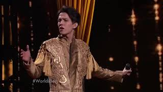 Download Dimash Kudaibergen - All by my self ( Celine Dion ) Cover Man with 6 Octaves Amazing Voice