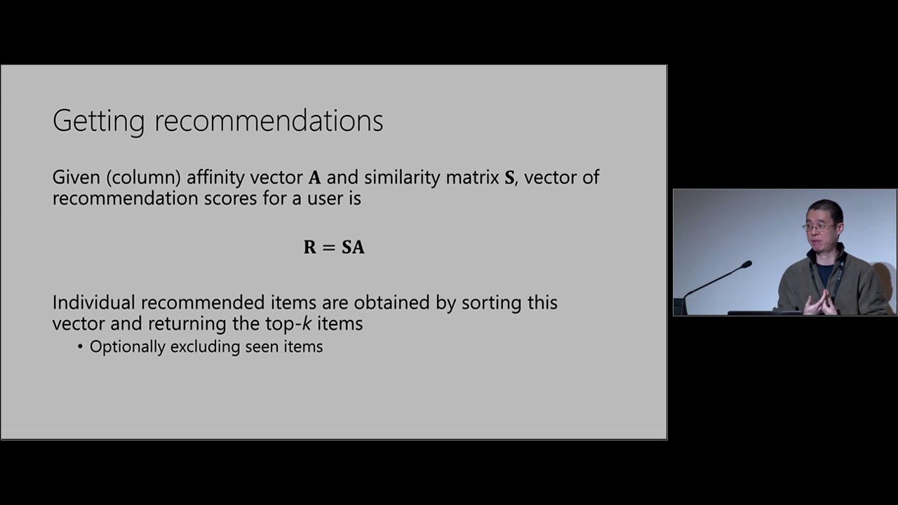 SAR: a practical, rating-free hybrid recommender for large data