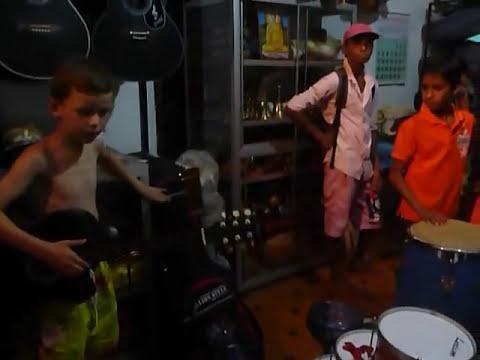 Sri  Lanka,ශ්රී ලංකා,Ceylon,Musical Instruments Shop Matara