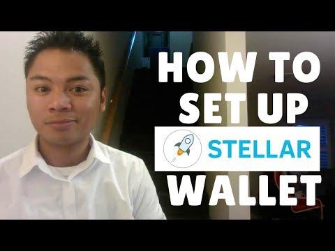 Blockchain Tutorial #9 - How To Setup A Stellar Lumen Wallet - By Deni Lovejoy