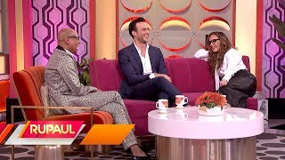 The 'RuPaul' Show with Leah Remini & Cheyenne Jackson!
