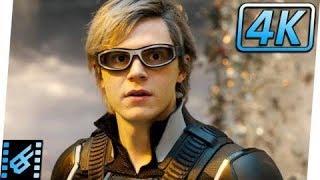 Quicksilver Extraction Scene | X Men Apocalypse 2016 | Movie Clip| Channel 4 You