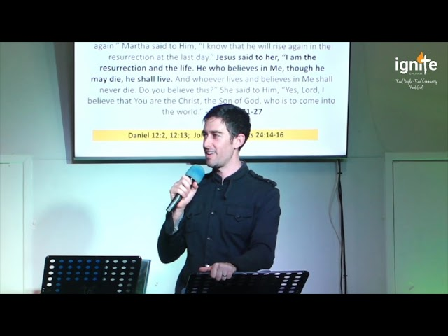 Ps  Joshua Gibbs - Miracles : Jesus is the Resurrection and the Life