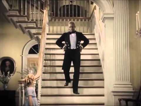 Shirley Temple Staircase Dance With Bill Robinson From The Little Colonel 1935