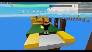 Playing Minions Obby