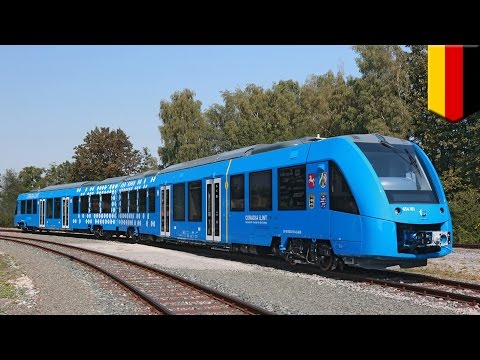 Green energy: World's first hydrogen-powered train Coradia iLint tested in Germany - TomoNews