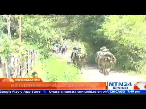 FARC dice que guerrilleros no estarán en zonas veredales hasta que se apruebe ley de amnistía