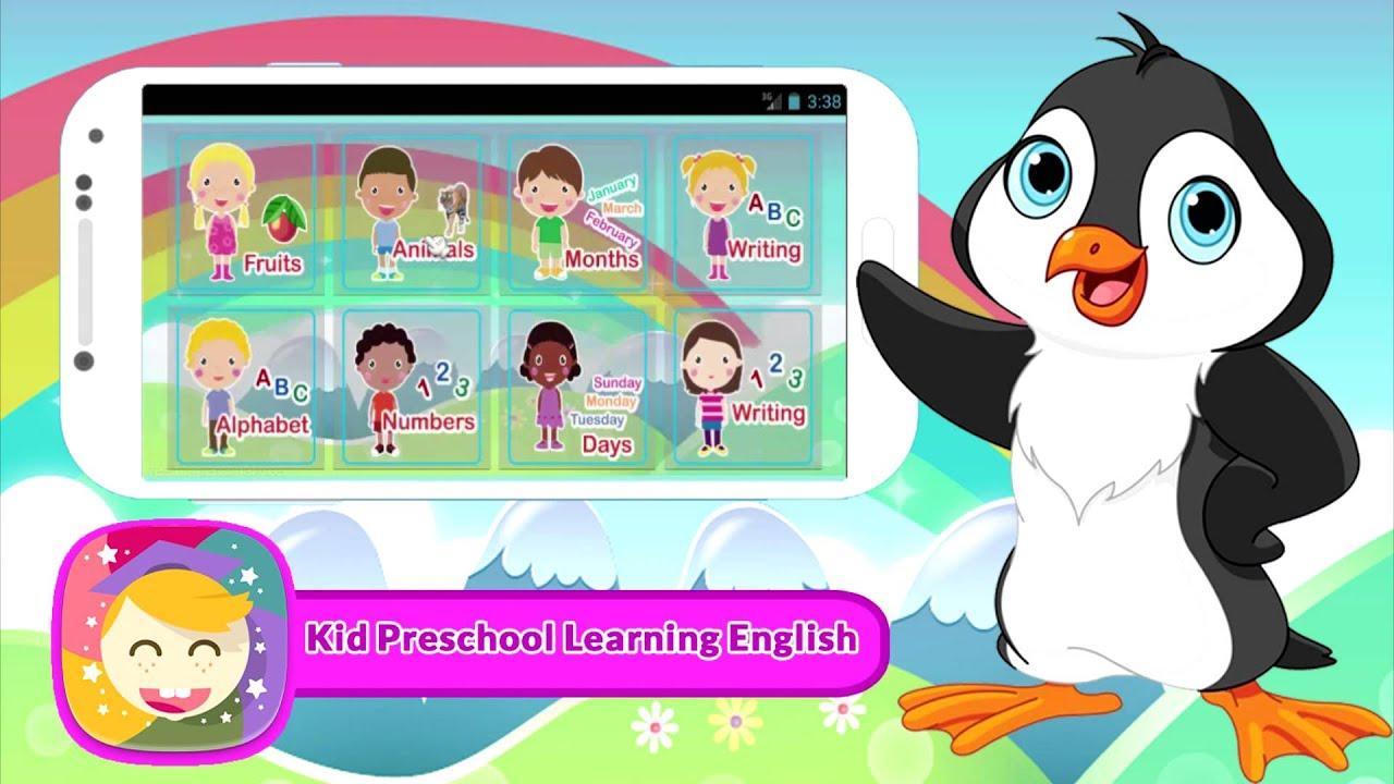 Kid Preschool Learning English - YouTube