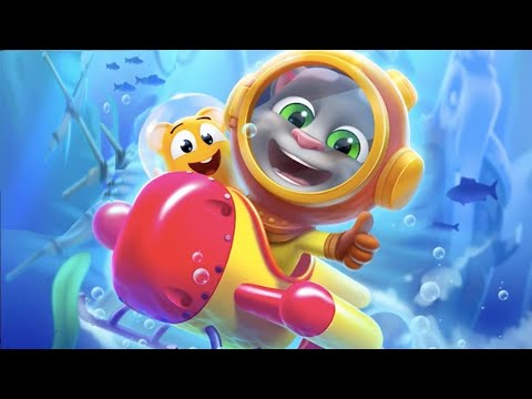 my-talking-tom-2---dive-into-the-underwater-world-new-update-2020---android-ios-gameplay-hd