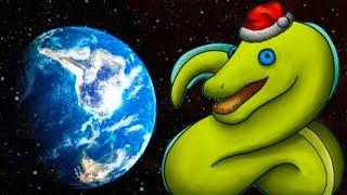ЗМЕИНЫЙ ЧЕРВЯК спас людей и съел мусор на дне морском #20 Съедобная Планета Tasty Planet Forever
