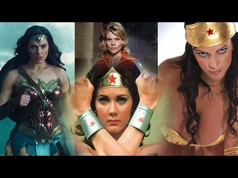 Wonderful evolution of WONDER WOMAN