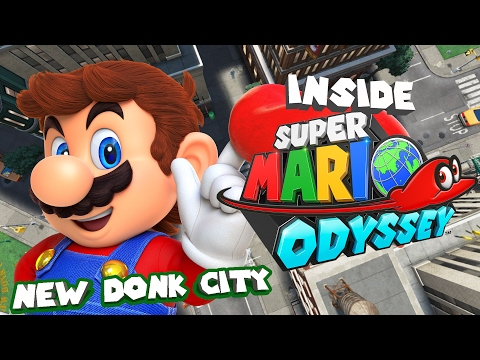 Inside Super Mario Odyssey - New Donk City