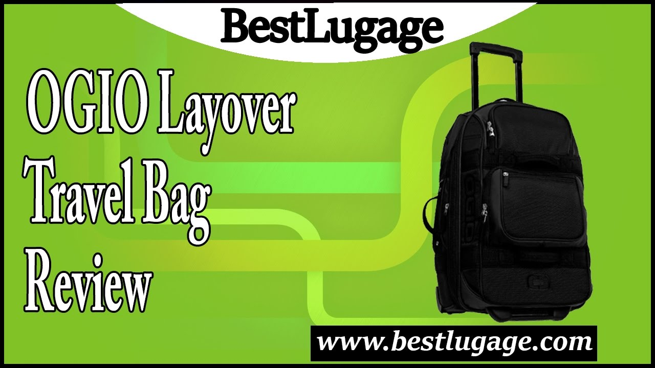 2c1cff3f6429 OGIO Layover Travel Bag Review