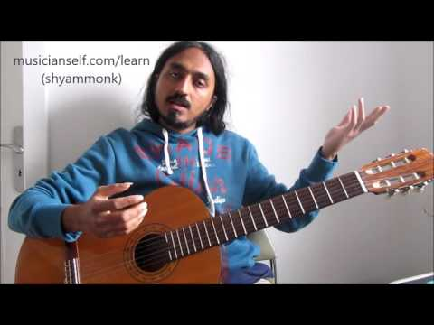 How to Map S R1 R2 R3 Carnatic Indian Raga Notation on Western Instrument
