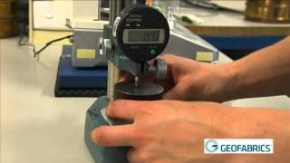 Geotextiles Standard AS 3706.9 - Permittivity Test Method