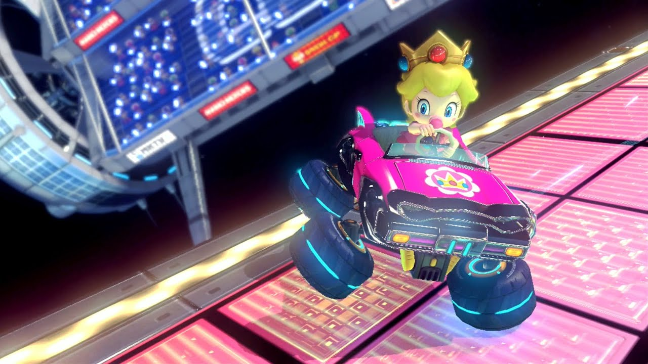 mario kart 8 grand prix special cup youtube