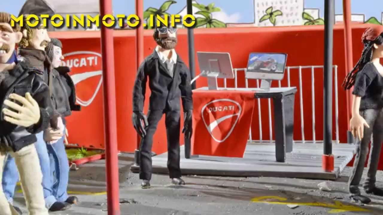 Ducati Scrambler Cartoon Youtube