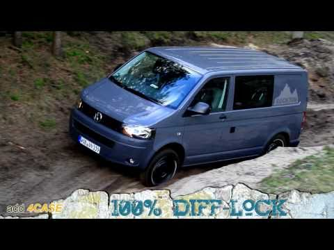 Off Road Test Drive VW T5 Rockton 4Motion Expedition FULL HD 1080p