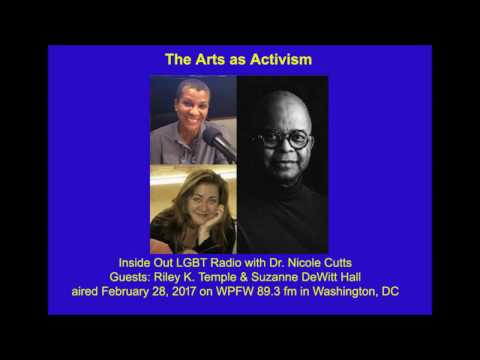 Arts as Activism on Inside Out Radio