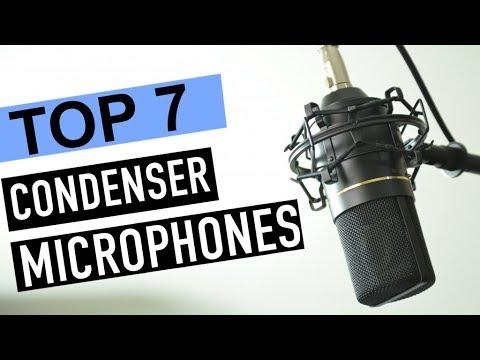 BEST 7: Condenser Microphones 2018