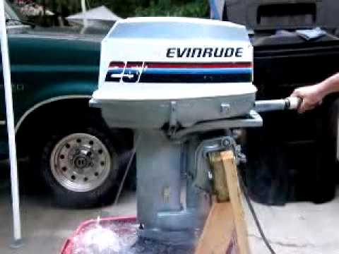 1978 evinrude 25 youtube. Black Bedroom Furniture Sets. Home Design Ideas