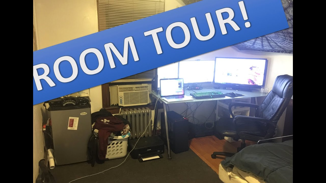 Room Tour 2016 (UMass Amherst Senior)   YouTube Part 24