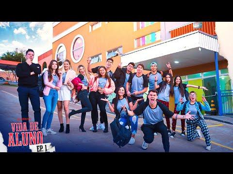 CHEGAMOS NA ESCOLA NOVA!! 🏫 - VIDA DE ALUNO #1