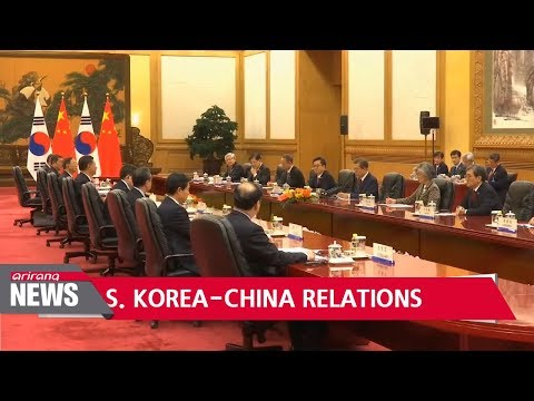 China chooses relations w/ S. Korea as one of top 10 news topics, lifts tourism ban