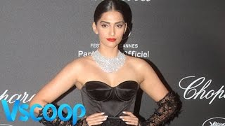 Sonam Kapoor Flashes Diamonds In Chopard Party #VSCOOP