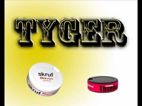 DJ tyger - žvýkací tabák